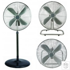 """16"""" 3-in-1 Oscillating Pedestal, Wall and Floor Fan"""