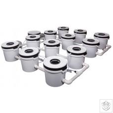 12 Pot Exodus ProFlow Hybrid System Exodus