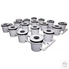 16 Pot Exodus ProFlow Hybrid System Exodus