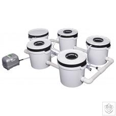 4 Pot Exodus ProFlow Hybrid System Exodus