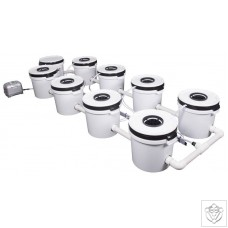 8 Pot Exodus ProFlow Hybrid System Exodus