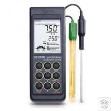 HI-9126N Waterproof pH/ORP Meter with CalCheck Hanna