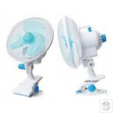 18cm Oscillating Clip on Fan N/A