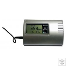 OptiClimate CO2 Monitor with RH and Temperature Sensor OptiClimate