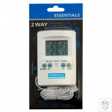 Digital 2 Way Thermometer/Min Max Meter Essentials