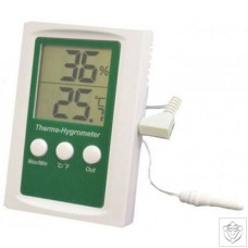 Thermo-Hygrometer Max/Min & Alarm Function