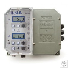 HI-9914-2 Wall Mounted pH and Conductivity Controller Hanna