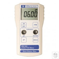 MW802 pH & Conductivity Combination Meter Milwaukee