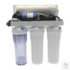 Pumped Reverse Osmosis Filter 4 Stage Unit - 190LPD