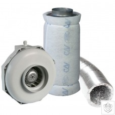 "10"" 250mm Can-Fan & Can-Lite Carbon Filter Kit (1110m³/hr)"