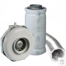 "10"" 250mm Can-Fan & Can-Lite Carbon Filter Kit (1170m³/hr)"