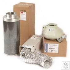 Rhino Pro Silver 5 Metre Ducting Kits Rhino