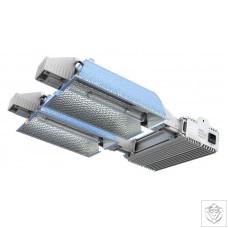 Nanolux DE Dual Fixture (600Wx2) 400v Nanolux