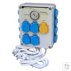 Timer Box II 12x600W with Heating Socket