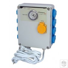 Timer Box II 8x600W with Heating Socket GSE