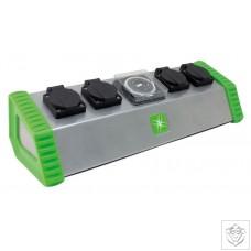 4 Socket Contactor Timer 26A LUMii