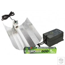 Eurolux 600W Euro Reflector Grow Light Kit Eurolux