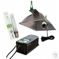 600W Dual Core Ballast With OPTii Reflector And 600w SunBlaster HPS Lamp LUMii