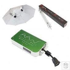 SolDigital 1000W DE Stealth Parabolic Reflector Kit