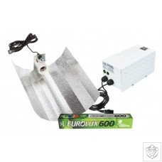600W iPac Hobby Euro Reflector Grow Light Kit