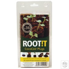 Coir Plugs - Pack of 36 ROOT!T