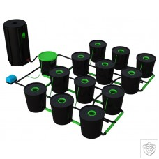 12 Pot Deep Water Culture DWC System Alien