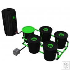 XL 4 Pot Deep Water Culture DWC System Alien