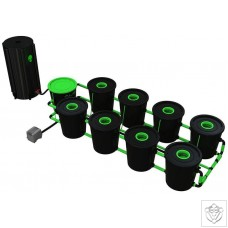 XL 8 Pot Deep Water Culture DWC System Alien