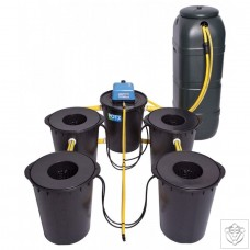 DWC 4 Potz System with 100L Tank POTZ Systems