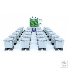 ALIEN RAIN 24 Pot 15L PRO Silver Series