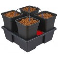 New Wilma Small Square 4 Complete - 11 Litre Pots Nutriculture