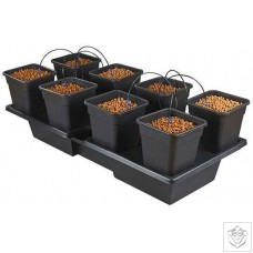 New Wilma Large Wide 8 Complete - 11 Litre Pots Nutriculture