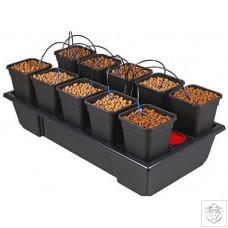 New Wilma Small Wide 10 Complete - 6 Litre Pots Nutriculture