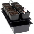 The Wilma 8 Pot Bioponics Drip System Nutriculture