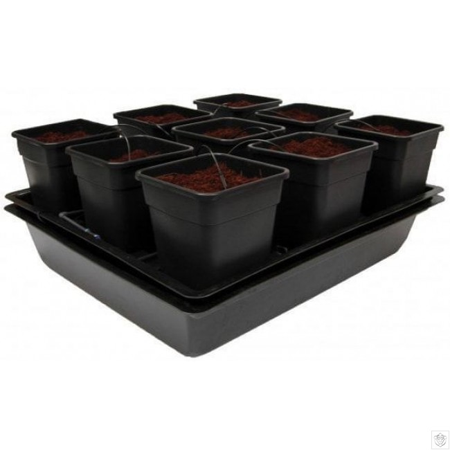 Wilma Big 9 Pot Hydroponic Dripper System Nutriculture