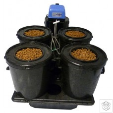 4 Pod Re-circulating Bubbler System Esoteric Hydroponics