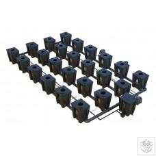 Idrolab 4 Row 24 Pot RDWC System Idrolab