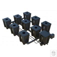 Idrolab 3 Row 9 Pot Large RDWC System Idrolab