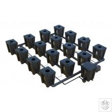 Idrolab 4 Row 16 Pot Large RDWC System Idrolab