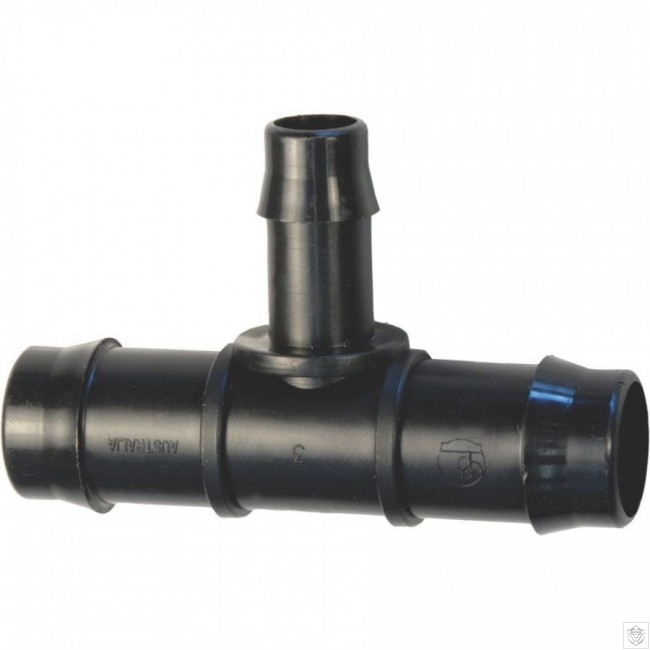 19mm 13mm Barb Reducer Tee