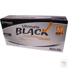 Disposable Gloves (Black) N/A