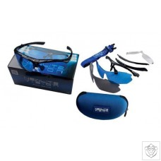LED Protection Glasses with Case Newlite Vision