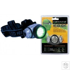 Green LED Headlight Green Eye
