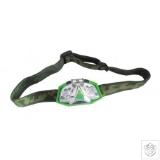Green LED Head Torch LUMii