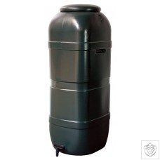 100L Slimline Water Butt Including Lid and 13mm Tap N/A