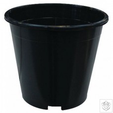 Round Black 3 Litre Pot N/A