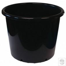 Round Black 10 Litre Pot N/A
