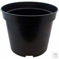 Round Black 25 Litre Pot N/A