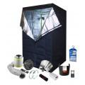 1 x 600W Soil Grow Tent Kit - 120 x 120 x 200cm