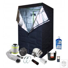 1 x 600W Soil Grow Tent Kit - 120 x 120 x 200cm
